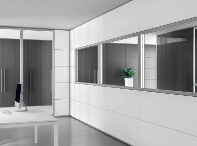 Uffici uffici mobili per ufficio sedute e poltrone - Pareti mobili divisorie ...