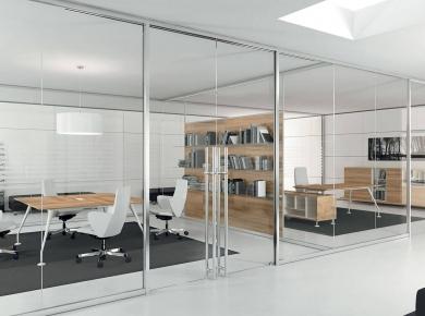 uffici & uffici - mobili per ufficio, sedute e poltrone, pareti ... - Pareti Vetrate Uffici